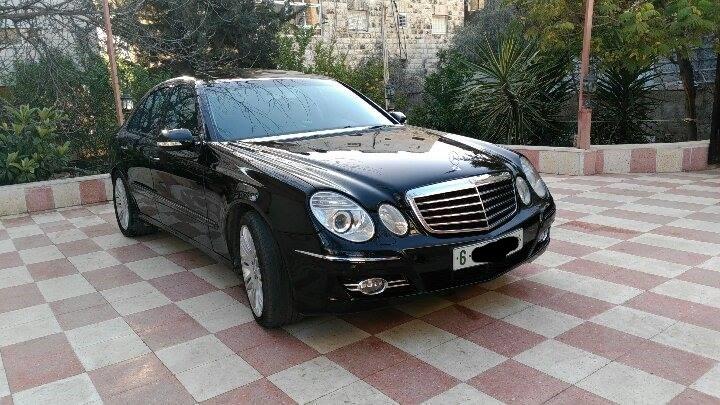 للبيع مرسيدس E200 موديل 2006 رام الله